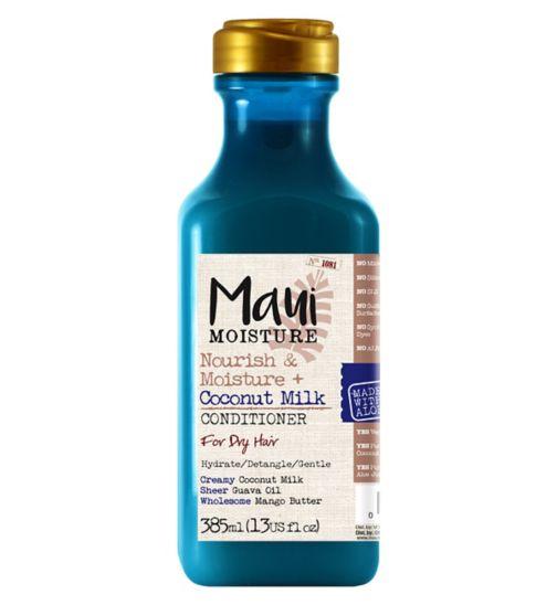 Maui Moisture Nourish & Moisture Coconut Milk Conditioner 385ml
