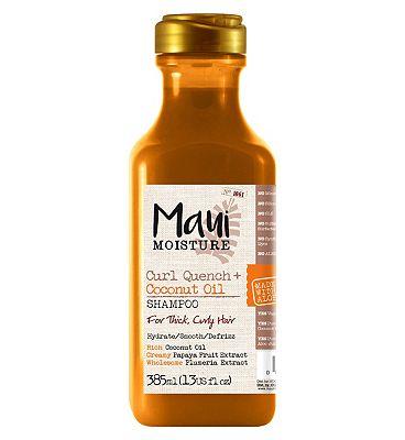 Maui Moisture Curl Quench Coconut Oil Shampoo 385ml