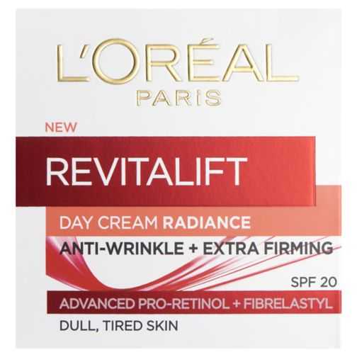 L'Oreal Paris Revitalift Radiance Day Cream SPF20 50ml