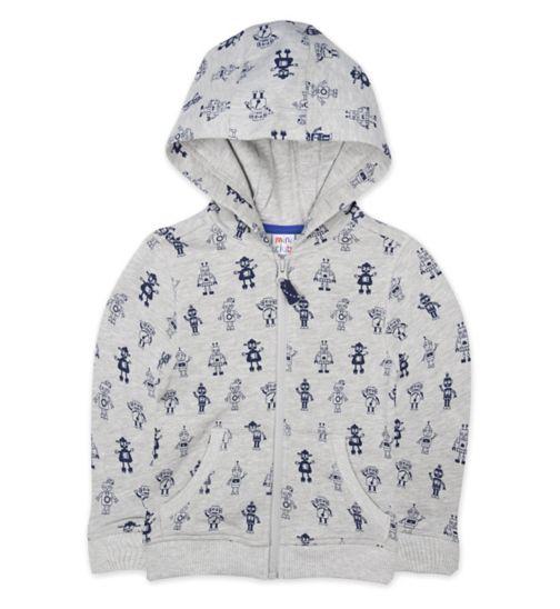 Mini Club Zip Through Hoodie
