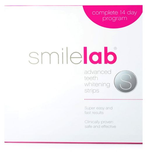 SmileLab 'S' Advanced Whitening Strips 15s