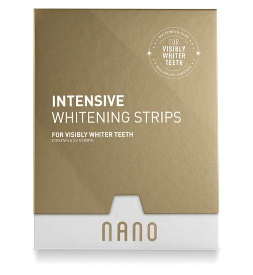 Nano Intensive Whitening Strips 28 Strips