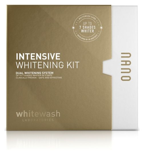 Nano Intensive Whitening Kit 10ml Gel+ 28 Strips
