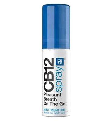 CB12 Instant Fresh Breath Spray Mint 15ml