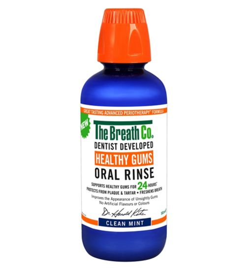 The Breath Co Healthy Gums Oral Rinse 500ml
