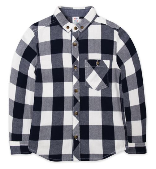 Mini Club Blue Check Shirt