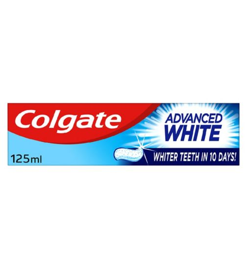 Colgate Advanced White Whitening Toothpaste 125ml