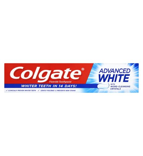 Colgate Advanced White Whitening Toothpaste 50ml