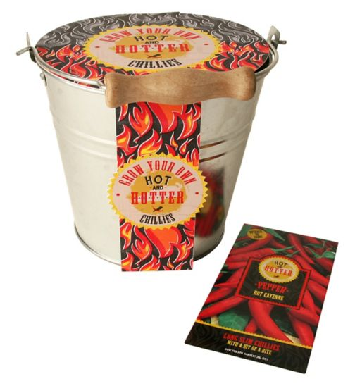 Hot & Hotter Chilli Plant Grow Your Own Kit