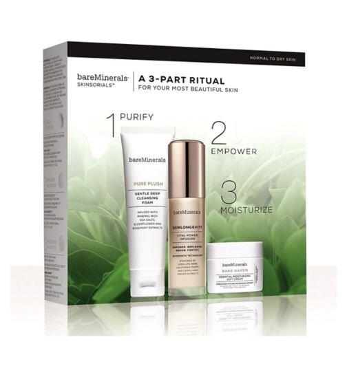 bareMinerals SKINSORIALS® Into kit normal to dry