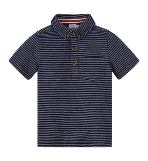 Mini Club Bows and Arrows Short Sleeve Polo Top