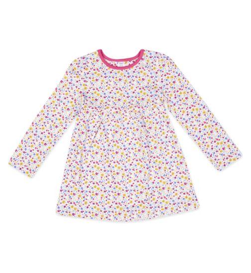 Mini Club Ditsy Floral Print Dress