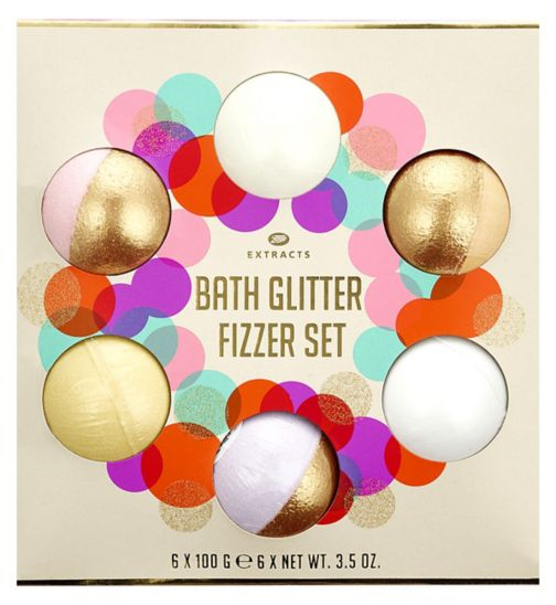 Extracts Bath Glitter Fizzer Collection