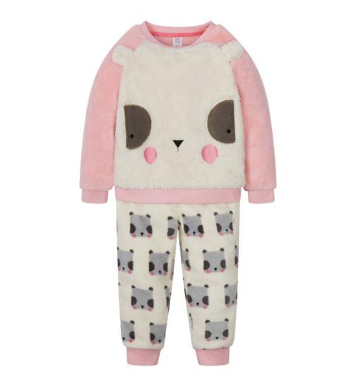 Mini Club Panda Fleece Pyjamas