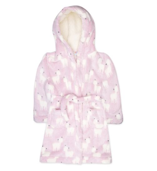 Mini Club Deer Print Robe