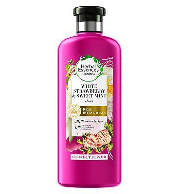 Herbal Essences Bio:Renew Conditioner 400ml White Strawberry & Mint