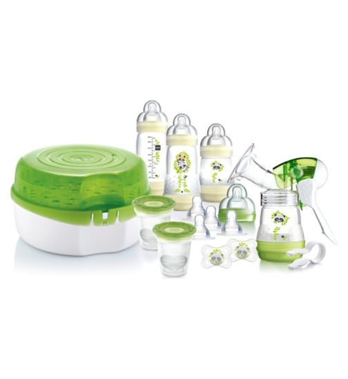 MAM Breastfeeding & Steriliser Set