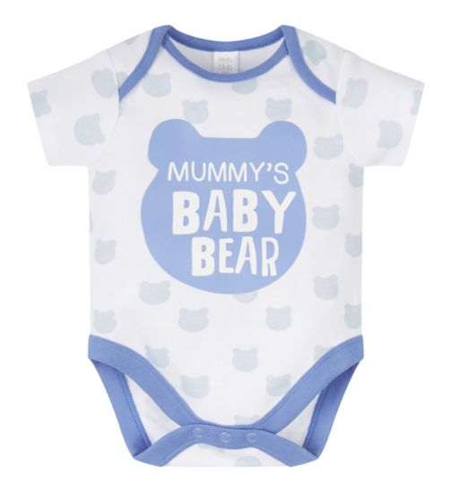 Mini Club Mummy Slogan Bodysuit