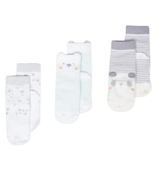 Mini Club Tiny Treasures 3 Pack Socks