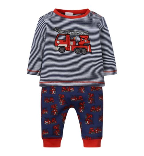 Mini Club Fire Engine Top and Jogger Set