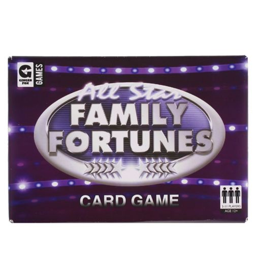 Family Fortune Card Game
