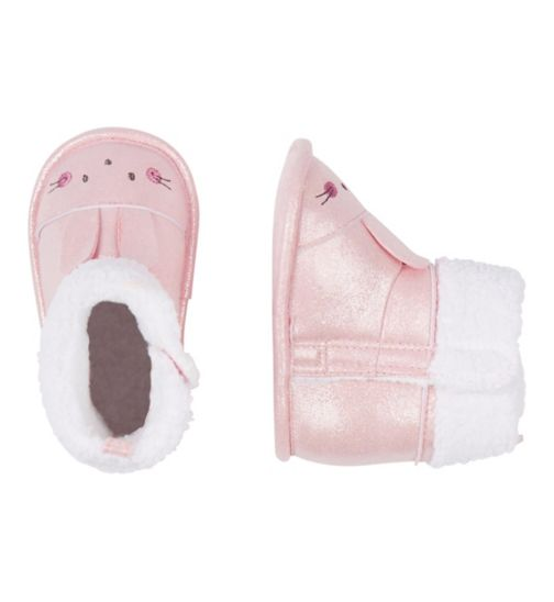 Mini Club Pink Bunny Shoe