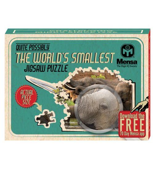 Worlds Smallest Jigsaw