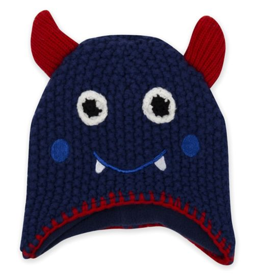 Mini Club Monster Knitted Hat