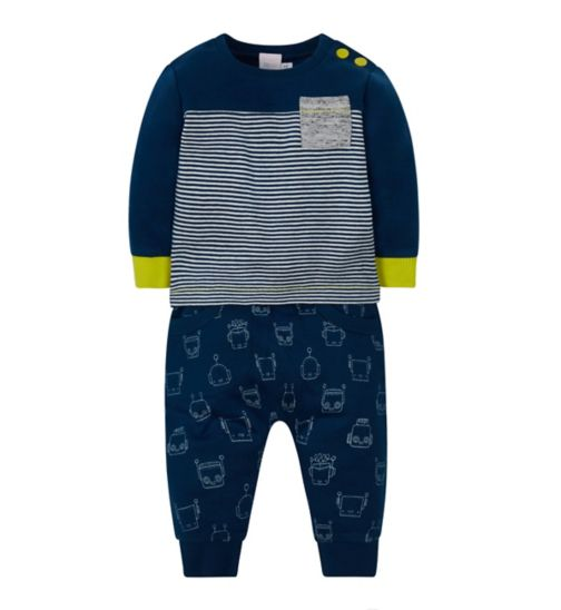 Mini Club Top and Jogger Set