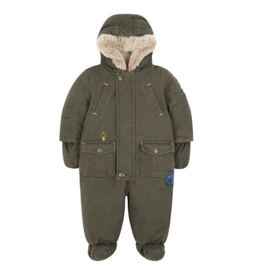Mini Club Khaki Snowsuit