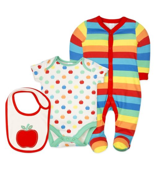 Mini Club Stripe 3 Piece Set