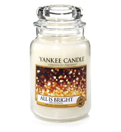 Yankee Candle All Is Bright Large Candle