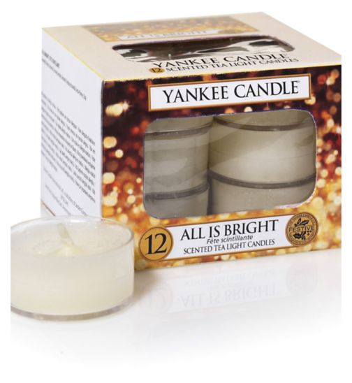 Yankee Candle All is Bright Scented Tealight Candle