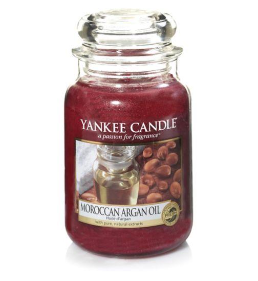 Yankee Candle CLASSIC Large Jar Moroccan Argan Oil