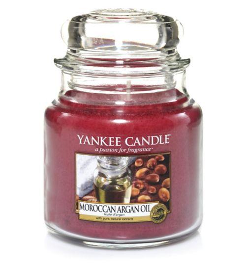 Yankee Candle CLASSIC Medium Jar Moroccan Argan Oil