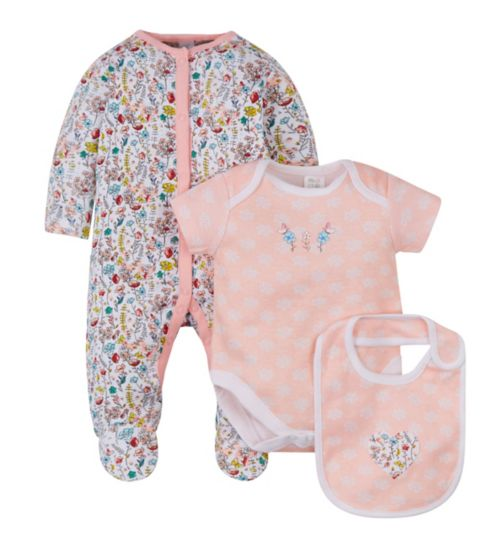 Mini Club Floral 3 Piece Set