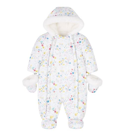 Mini Club All Over Print Snowsuit
