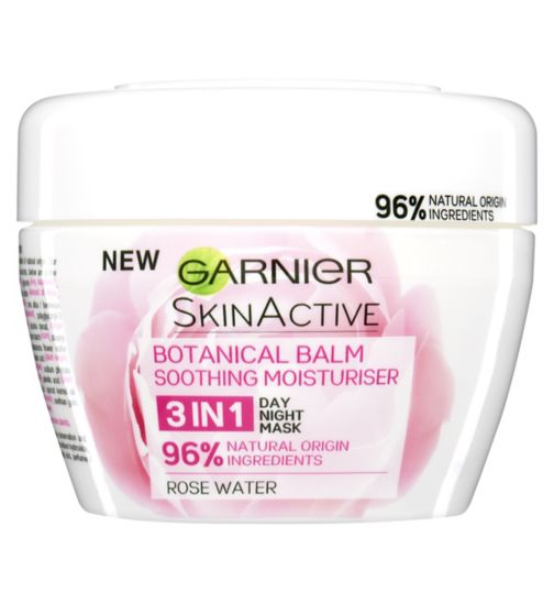 Garnier Natural 3 in 1 Soothing Rose Botanical Balm 140ml