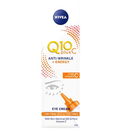 Nivea Q10 Plus Vit C Anti Wrinkle Eye Cream 15ml