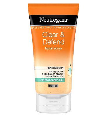 Neutrogena Clear & Defend Facial Scrub 150ml