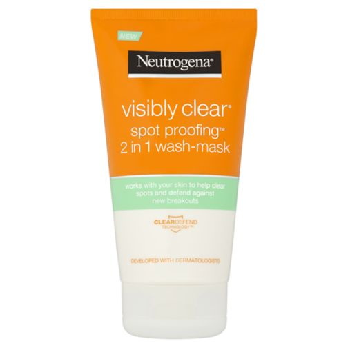 Neutrogena Visibly Clear Spot Proofing 2-in-1 Wash Mask
