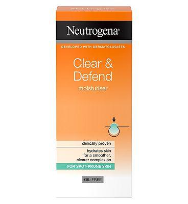 Neutrogena Clear & Defend Moisturiser 50ml