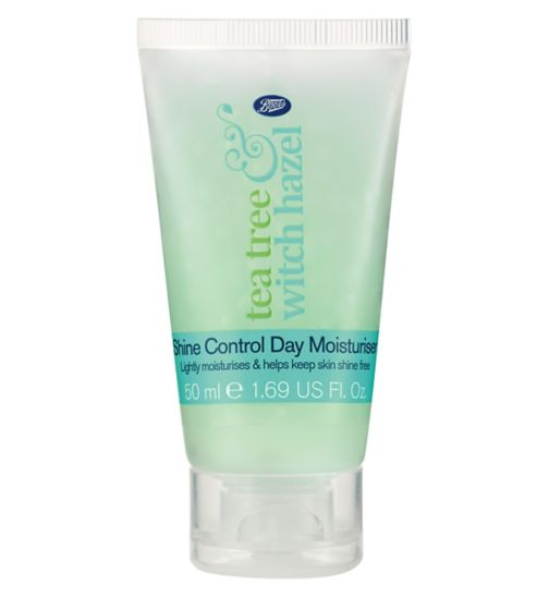 Boots Travel Mini Tea Tree & Witch Hazel Shine Control Day Moisturiser 50ml