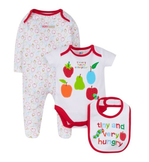 Mini Club The Very Hungry Caterpillar 3 piece set