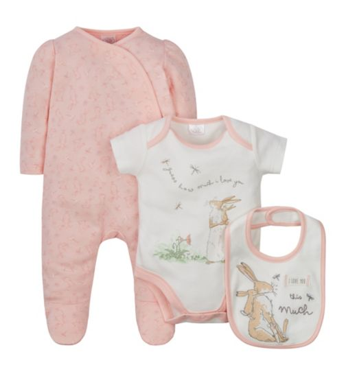 Mini Club Guess How Much I Love You 3 piece set
