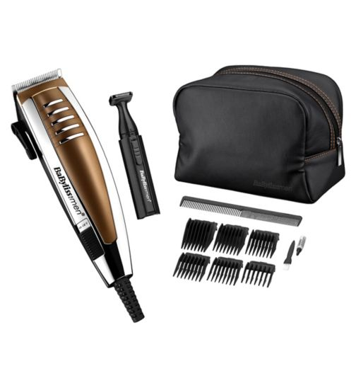 BaByliss for Men Copper Clipper Gift Set