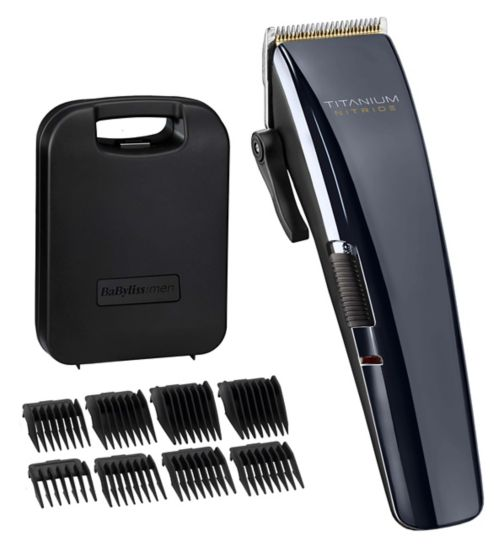 Babyliss for men titanium nitride clipper