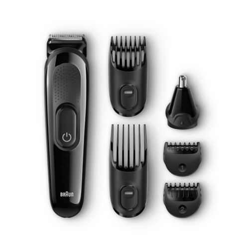 Hair clippers mens grooming tools boots braun multi grooming kit mgk3020 6 in 1 precision trimmer for beard and solutioingenieria Image collections