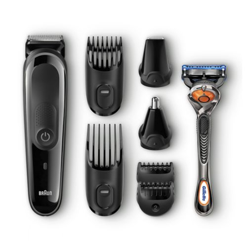 Braun Multi Grooming Kit MGK3060 – 8-in-1 Precision Trimmer for Beard and Hair Styling