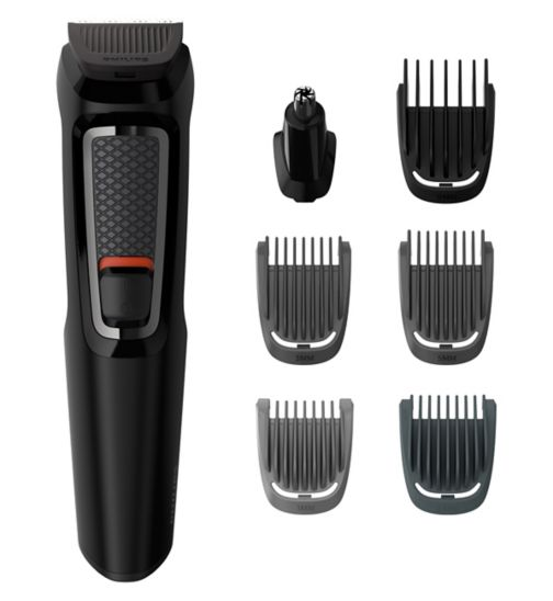 Philips Series 3000 7-in-1 Multigroom MG3720/13 Grooming Kit
